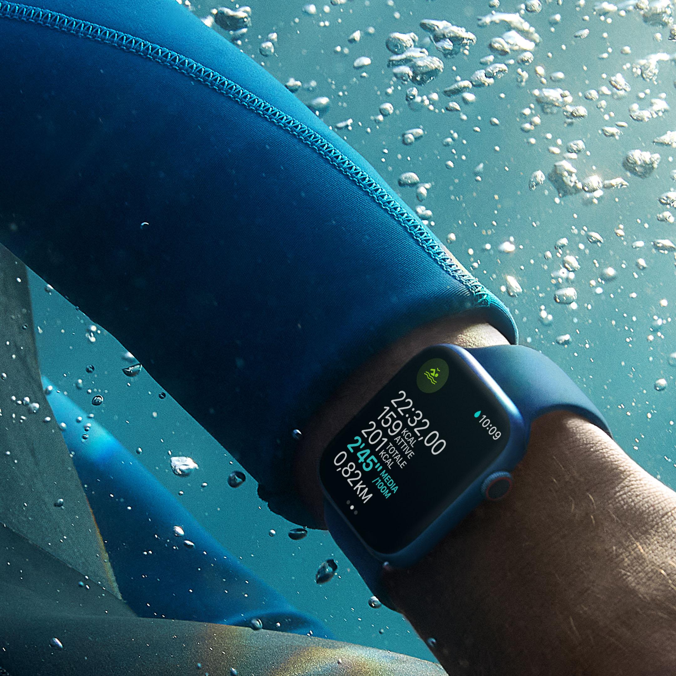 Apple Watch resistente acqua